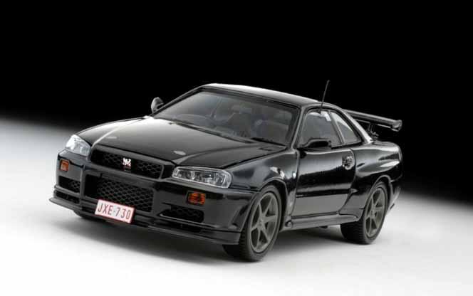 """PSD14/47 -1:43 Nissan Skyline BCNR34 """"Nuerburgring Test"""" – Black – 03386BK"""