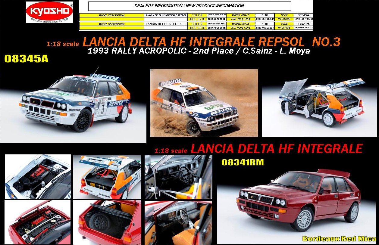 08345A - 1:18 Lancia Denta HF