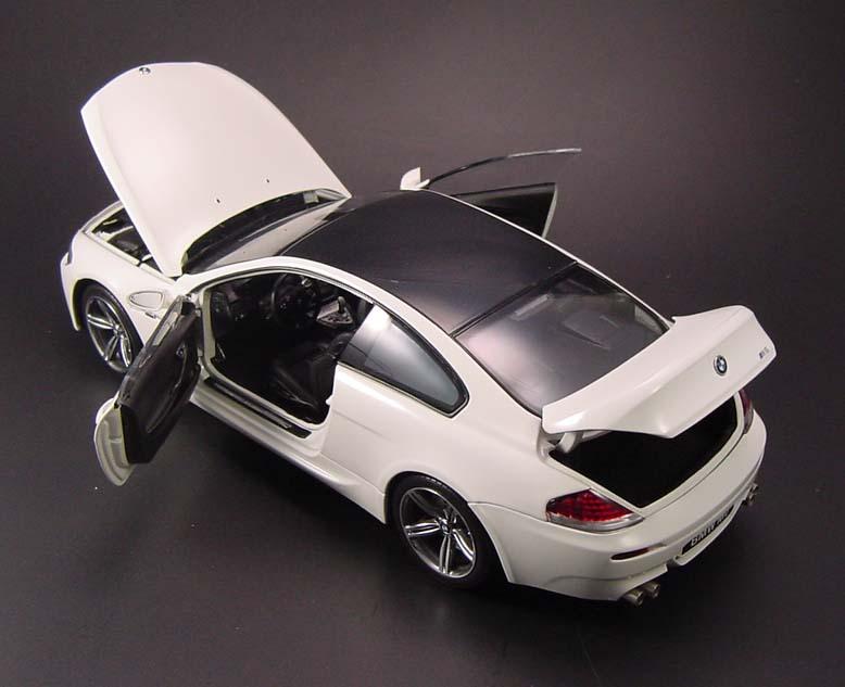 BMW M6 White Inside