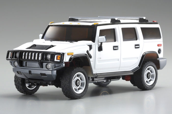 Top Cars Zone Hummer H2 White Wallpaper