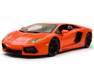 Kyosho|product Die Cast 1 18 Scale Diamond Collezione Lamborghini Aventador Lp700 4 Orange Red