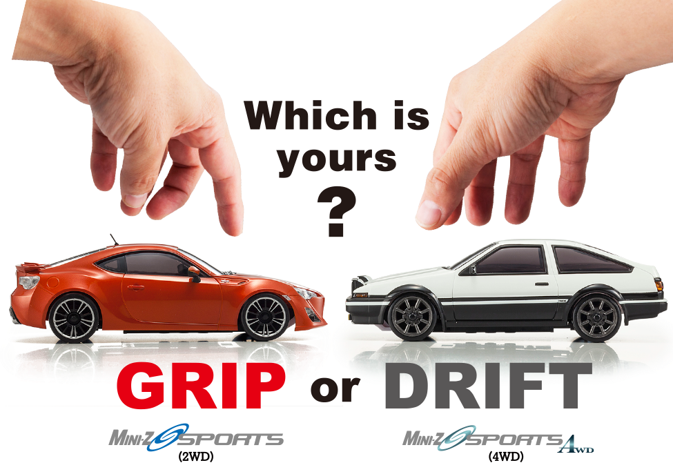 Which is yours ? GRIP or DRIFT