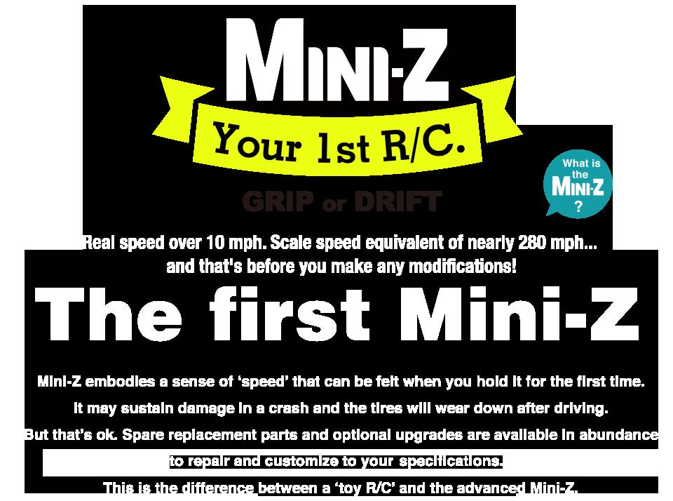 The first Mini-Z